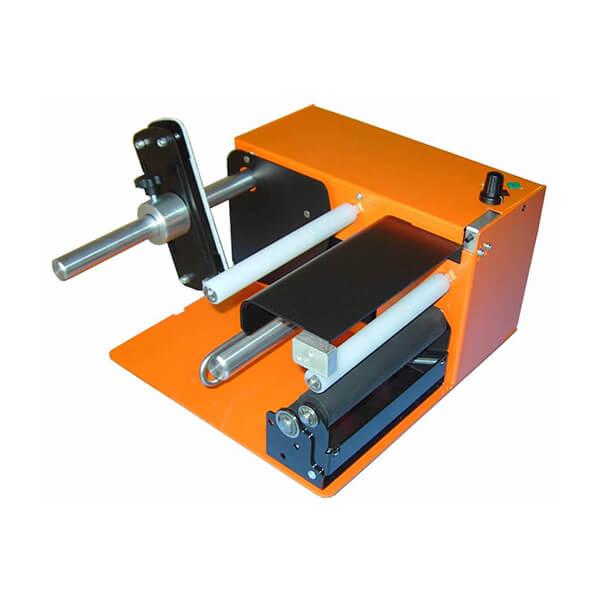 Accesorio dispensador de etiquetas adhesivas industriales