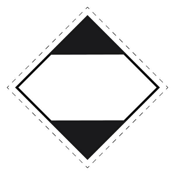 Etiqueta ADR de mercancías peligrosas para cantidad limitada